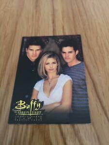 Buffy the Vampire Slayer Season 3 Promo Trading Card SD-1999 Inkworks
