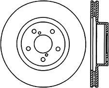 Disc Brake Rotor-High Carbon Alloy Brake Disc Front Centric 125.47012
