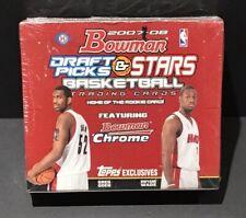 2007-08 Bowman Draft Picks & Stars NBA Basketball Sealed Box Durant Auto RC Year