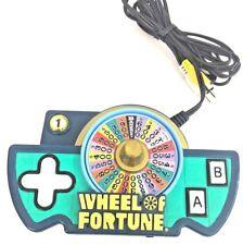 2005 Jakks Pacific Wheel Of Fortune Game TV Handheld Plug And Play
