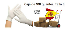 Guantes de látex en talla S. Caja de 100 unidades. Envio desde España en 24/48h
