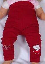 Kinder Baby Winter Thermo- Hose Peppa  Gr.74 Bordeaux Neu