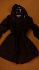Patternless Raincoat Tall Coats & Jackets for Women