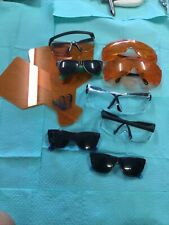Lot Of Dental Curing Safety Sunglasses And Clear Safety Glasses