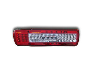 LEFT HAND LED REAR LIGHT TAIL LAMP VOLVO FH FM 2012> EURO 6 WITH NUMBER PLATE