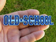 UK ~ OLD SCHOOL Car Emblem BLUE *NEW* Suit Ford Triumph Standard Vangard MG etc