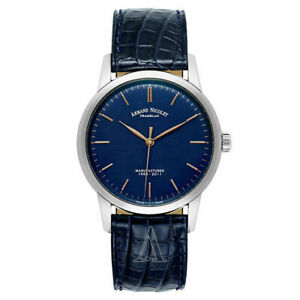 NIB Armand Nicolet Limited Edition L10 Manual Wind Watch, MSRP: $7290 (10+ Pics)