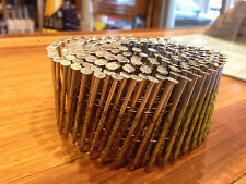 Galvanised Coil Nails 57mm x 2.5mm 15 Degree Screw Shank Wire Collated QTY 9000
