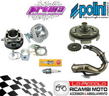 X Vespa Pk 50 S Set Modification Engine Unit Polini 102 Ø55 Bell Silencer Proma