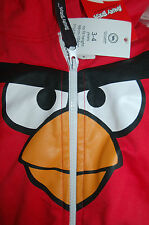NEW Angry Birds Red Red All In one Age 3-4 98-104cm Bird face Hood Pocket Party