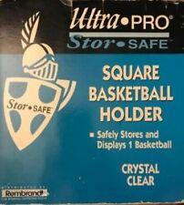 Rembrandt Ultra-Pro Stor-Safe Square Basketball Holder Crystal Clear