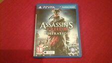 Assassins Creed de liberación de 3 PS VITA JUEGO