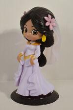 "5.5"" Dreamy Wedding Princess Jasmine Banpresto Q Posket Figure Disney Aladdin"