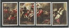 JERSEY 1981 BATTLE OF JERSEY PAINTINGS SG,244-247 UM/M N/H LOT R818