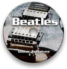 The Beatles Pop Rock Guitar Tabs Tablature Lesson Software CD - Guitar Pro