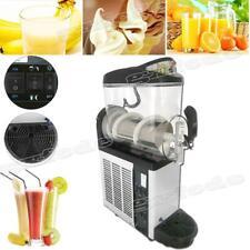110v Slush Y Machine 12l Single Bowl Margarita Frozen Drink Maker 700w Automatic
