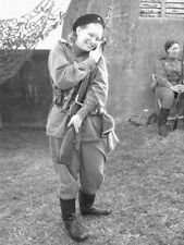 WW2  Photo WWII Soviet Female Sniper Russian Army Mosin  World War Two / 1599