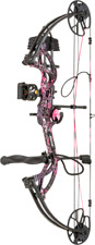 Bear CRUZER G2 Muddy Girl Pink Bow Pkg 70# Left Hand Free Cap & Paradox Sling