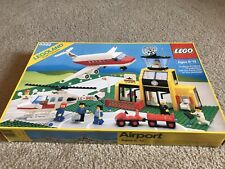 LEGO  #6392 AIRPORT TOWN SYSTEM 1985 COMPLETE, BOX, INSTRUCTIONS