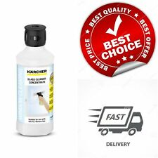 Karcher Glass Cleaning Concentrate 500 ml Clean Window Mirror Detergent Solution