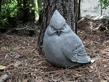 Bird Statue, Concrete Bird, Garden Decor, Garden Bird, Fat Bird Statue, Yard Art
