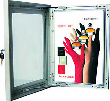 Weather proof Lockable Notice Board/waterproof notic board/snap frame