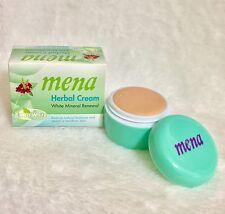 2 Mena Extra White Brightening Cream Mineral Skin Whitening Ginseng Root Extract