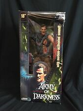 """18"""" Ash Army of Darkness Movie Maniacs Figure"""