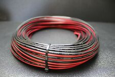 14 GAUGE PER 10 FT RED BLACK ZIP WIRE AWG CABLE POWER GROUND STRANDED COPPER CAR