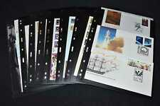Australia 1980s Fdcs on Pages, 99p Start, All Pictured