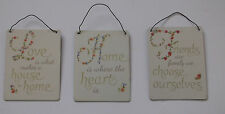 Unbranded Patternless Decorative Hanging Signs