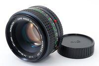 """APP Near Mint"" Minota MC Rokkor PF 50mm F1.7 Manual Focus Lens From Japan #1160"