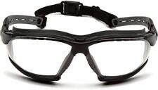 Pyramex ISOTOPE Safety Goggles/Glasses with H2MAX Anti-Fog coating Clear Lense