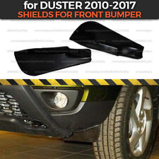 Aerodynamic Shields on front bumper for Dacia / Renault Duster 2010-2017 rubbers