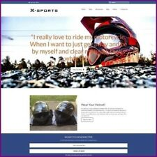 MOTORCYCLE GEAR Website Business For Sale|Earn $79.99 A SALE|FREE Domain|Hosting