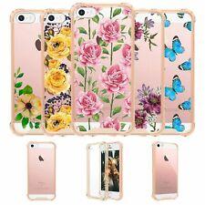 For Apple iPhone 5 SE|iPhone 5S|iPhone 5 Gold Bumper TPU Case [Custom Designs]