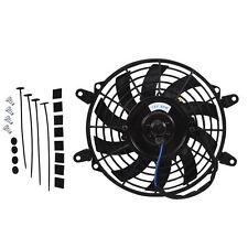 "9""12V 80W Universal Slim Electric Radiator Cooling Fan Push Pull Mounting Kit"