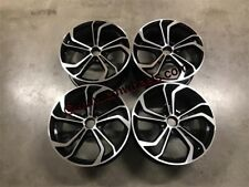 "18"" VW Golf Reifnitz TCR Style Wheels Black Machined MK5 MK6 MK7 MK7.5 GTi GTD R"