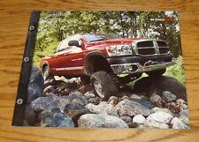 Original 2008 Dodge Ram Truck Deluxe Sales Brochure 08 ST SXT SLT Laramie