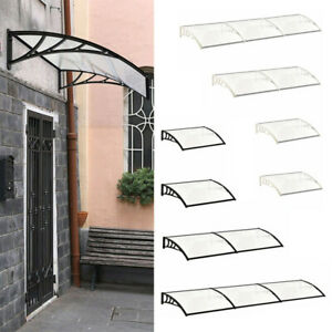 Door Canopy Awning Shelter Roof Rain Cover Front Back Porch Outdoor Shade Patio