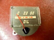 1942 LINCOLN ZEPHYR CONTINENTAL OIL PRESSURE GAUGE NOS