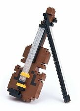 Violin Nanoblock Micro-Building Block Construction Toy Mini Brick Kawada NBC-018