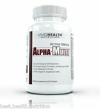 Vivid Health Nutrition Active Mens ALPHA MULTI - High Performance Multivitamin
