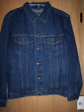 Men's Jean Denim Jacket Saddlebred Size Medium, 40""