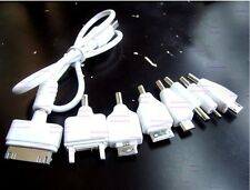 8 in 1 Plug USB TO 3.5mm x 1.3mm Multi-Function for cell phones Charger Cable