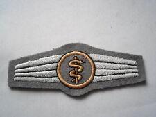 Bundeswehr Abz. per Personale medico grigio / bronzo
