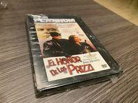 Il Onore De Los Prizzi DVD Jack Nicholson Kathleen Turner Anjelica Huston Sealed