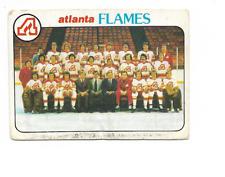 1978-79 O-Pee-Chee #192 Atlanta Flames Team Checklist