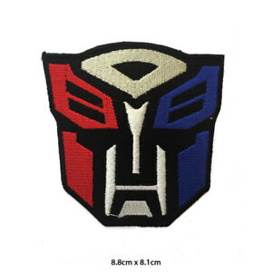 Transformer Super Hero Movie Embroidered Patch Iron on Sew On Badge