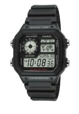Casio Collection World Time Uhr AE-1200WH-1AVEF Digital Schwarz